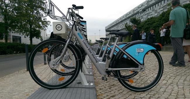 Andar nas bicicletas partilhadas de Lisboa vai custar 25 euros por ano