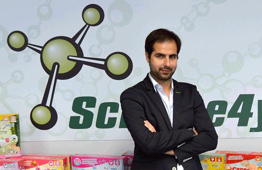 O rei dos brinquedos científicos