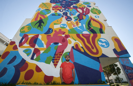 Festival de street art reforça identidade de Viseu