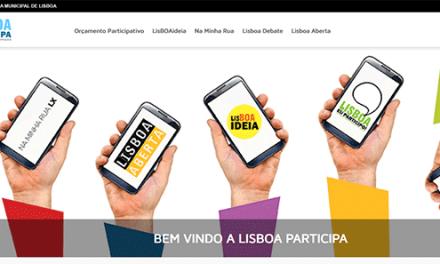 Lisboa Participa: as ferramentas de participação cívica num só lugar
