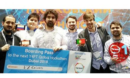 Estudantes portugueses vencem hackathon de mobilidade