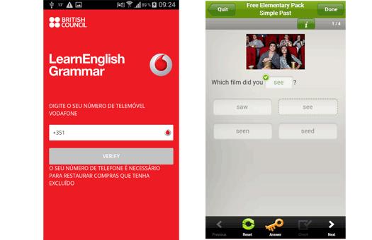 Nova app da Vodafone ajuda a melhorar o inglês
