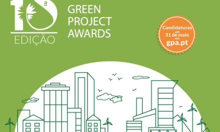 Candidaturas abertas para a 10ª edição dos Green Project Awards
