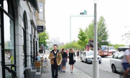 Philips e Ericsson apresentam poste de iluminação inteligente