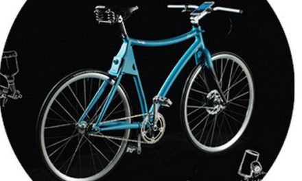 Duas gerações, uma bicicleta