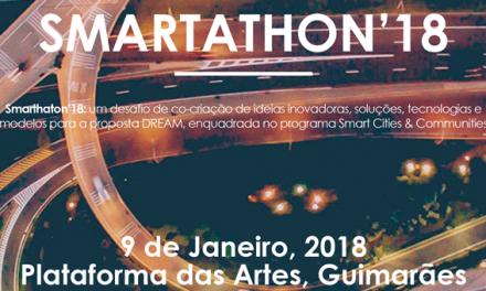 SMARTATHON'18: Soluções urbanas inovadoras vão nascer em Guimarães