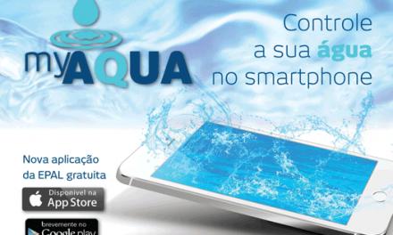 myAQUA, a nova aplicação gratuita da EPAL