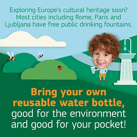 Semana Verde europeia: reciclar, deixar o carro em casa e beber água da torneira