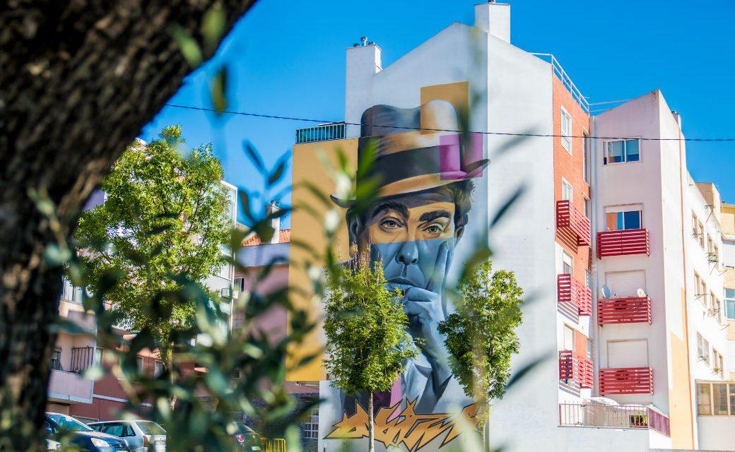 Ruas da Amadora com mais arte urbana em Agosto