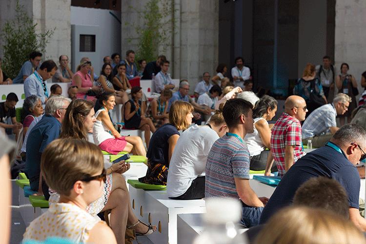 Urbact City Festival Lisboa.A edição deste ano do URBACT City Festival contou com a participação de mais de 261 representantes oficiais de cidades, aos quais se juntaram 496 participantes, num total de 32 países representados.©Frederico Raposo