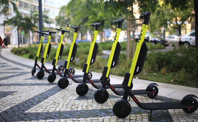 As hive já rolam. Lisboa é a primeira cidade a receber as trotinetas da mytaxi