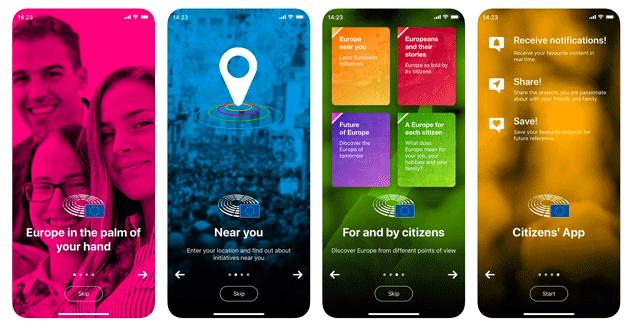 """Nova app coloca """"a Europa na palma da mão"""""""