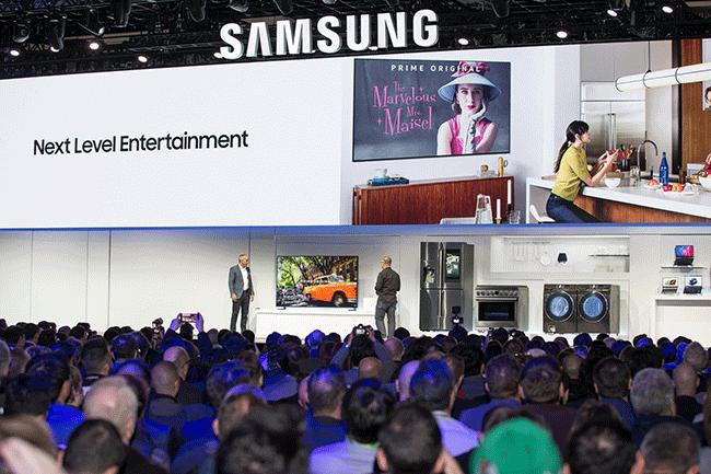 Samsung apresenta robôs que gerem a medicação diária na CES
