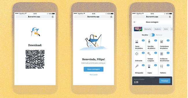 Nova app para ajudar a acabar com o lixo nas praias