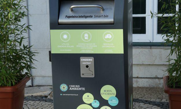 Sistema inteligente ajuda Cascais a reduzir número de recolha de resíduos
