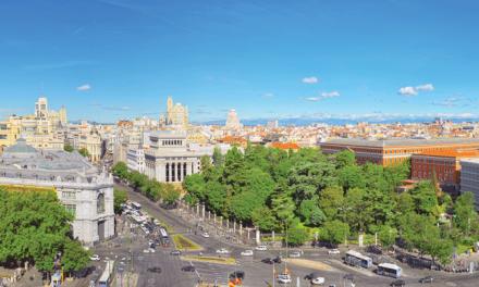 Preocupada com a cidade, Madrid livra-se dos carros