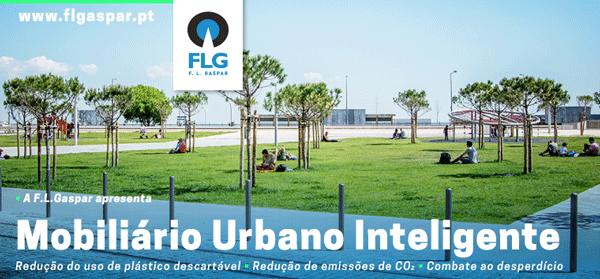 FL Gaspar apresenta Mobiliário Urbano Inteligente