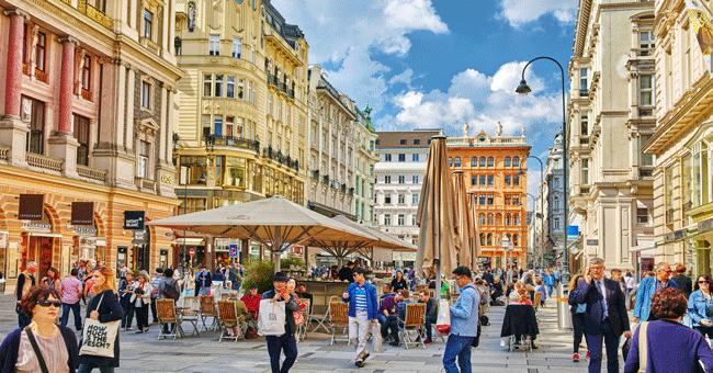 Viena é a cidade mundial com mais qualidade de vida, diz The Economist
