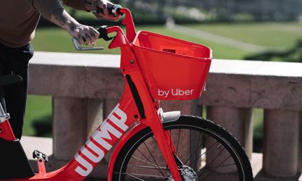 Uber promove utilização integrada na aplicação com transportes públicos e bicicletas JUMP