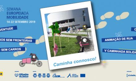 Oliveira do Bairro encerra avenida ao trânsito em Semana Europeia da Mobilidade