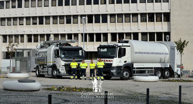 Caldas da Rainha investe 500 mil euros na recolha de resíduos e saneamento