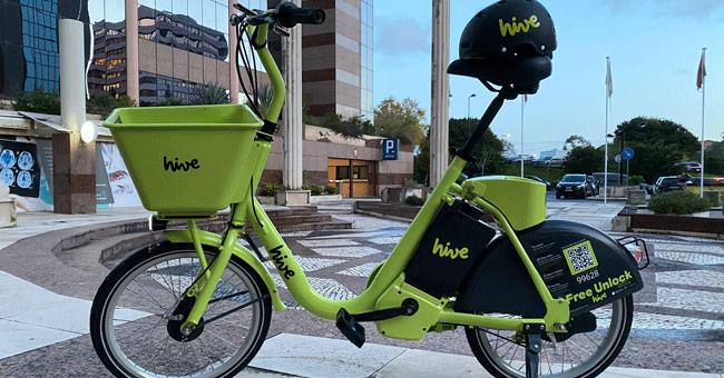 Depois das trotinetas, Hive lança bicicletas eléctricas nas ruas de Lisboa
