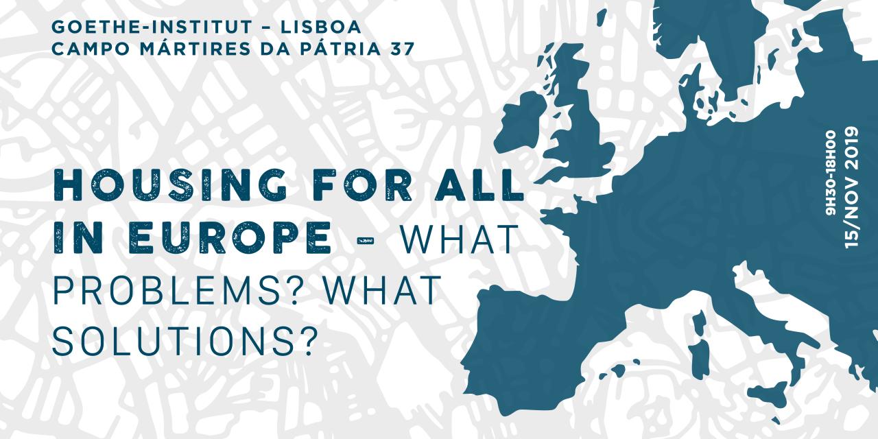 Da crise financeira às políticas e reivindicações: o que está a mudar na Habitação na Europa?