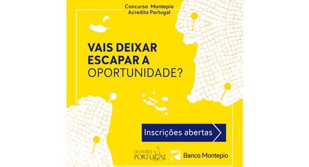 10ª edição do concurso Montepio Acredita Portugal lança programa de incubação inovador