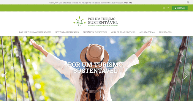 """Plataforma """"Por um turismo sustentável"""" quer reduzir usos energéticos de hotéis em Portugal"""