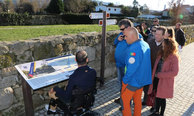 Primeiro percurso pedestre homologado acessível, inclusivo e sensorial de Portugal é em Chaves