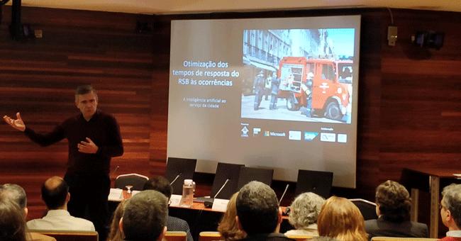 Lisboa vai usar dados para melhorar tempo de resposta de sapadores bombeiros a emergências