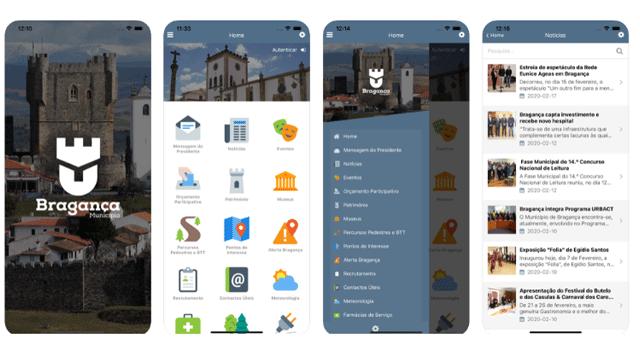Bragança lança aplicação móvel para reportar ocorrências e fazer parte do orçamento participativo