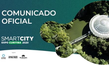 Terceira edição do Smart City Expo Curitiba é transferida para Junho