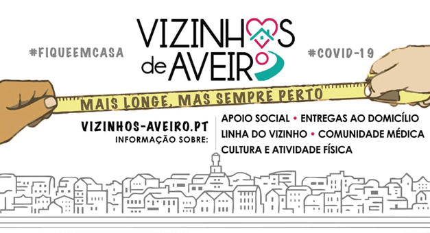 Covid-19: Em Aveiro, os vizinhos unem-se nas redes para ajudar grupos de risco