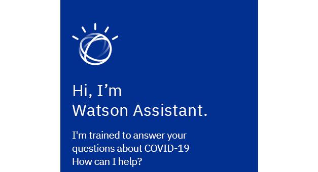 IBM disponibiliza assistente virtual para responder a dúvidas sobre a covid-19