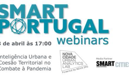 SMART PORTUGAL Webinars: Inteligência Urbana e Coesão Territorial no Combate à Pandemia