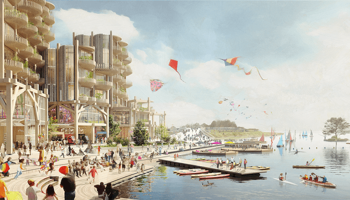 """""""Incerteza económica"""" trava projecto para a construção de bairro inteligente e sustentável em Toronto"""