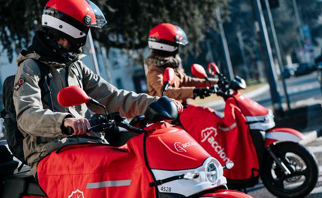 ACCIONA RETOMA O SEU SERVIÇO DE MOTOSHARING