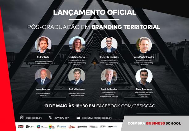 Coimbra Business School lança Pós-Graduação em Branding Territorial