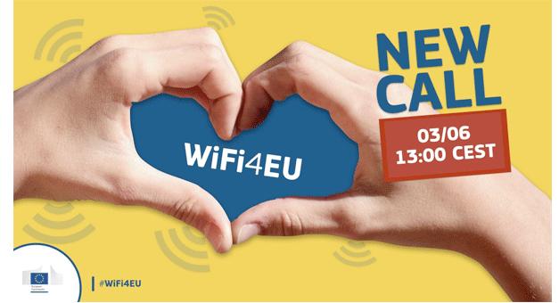Call da UE para implementar Wi-Fi em espaços públicos encerra hoje