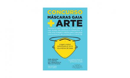 Câmara de Gaia promove concurso «Máscaras Gaia + Arte»
