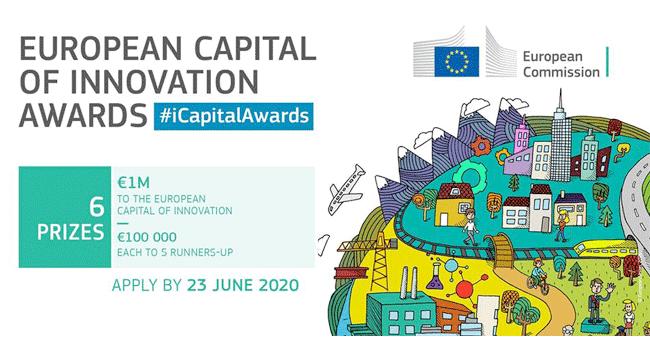 Até 23 de Junho, estão abertas as candidaturas para a Capital Europeia da Inovação
