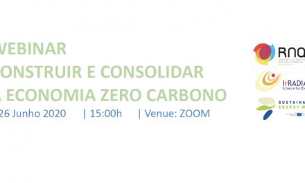"""EUSEW: Webinar """"Construir e Consolidar a Economia Zero Carbono"""""""