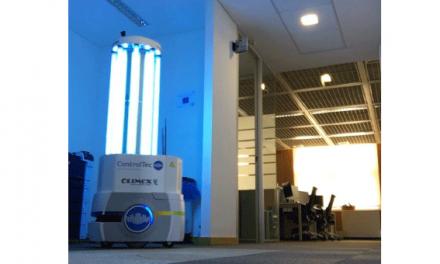 Mais avançada solução de desinfeção robótica chegou a Portugal