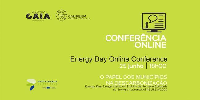 """GAIURB DEBATE """"O PAPEL DOS MUNICÍPIOS NA DESCARBONIZAÇÃO"""" NA ENERGY DAY ONLINE CONFERENCE"""