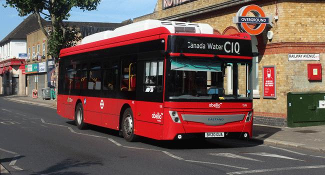 Primeiros e.City Gold entregues à operadora Abellio, em Londres