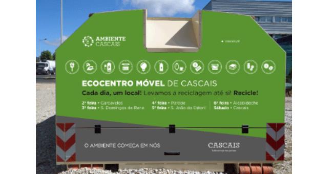 Primeiro Ecocentro Móvel de Portugal circula em Cascais