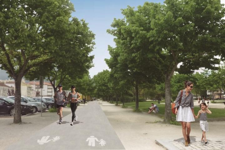 Início da construção da rede de percursos pedonais de Torres Vedras