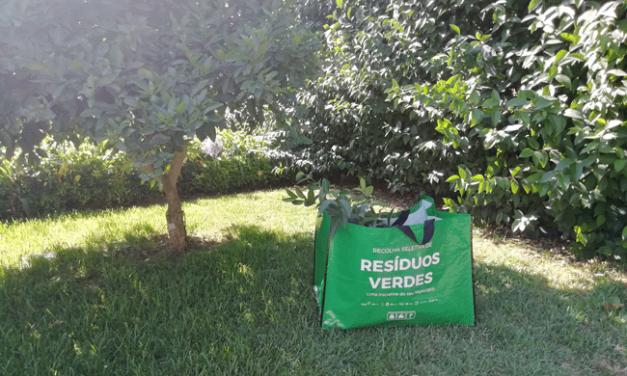 Lipor e os seus Municípios Associados promovem a recolha de resíduos verdes em mini bags com identificador eletrónico RFID UHF