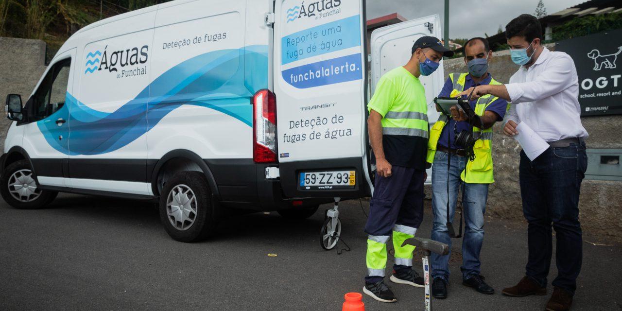 Funchal investe 100 mil euros em viatura de deteção de fugas de água